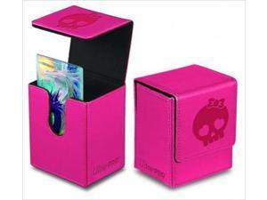 Ultra Pro 84399 Deck Box Flip Bowtie Skull Pink