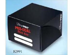 Ultra Pro 82991 Dual Standard Black Deck Box