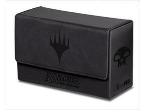 Ultra Pro 86190 Deck Box Dual Mana Flip, Black