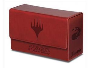 Ultra Pro 86191 Deck Box Dual Mana Flip, Red