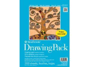 Strathmore ST27-119-1 100 Series 9'' x 12'' Drawing Paper Sheet Stock