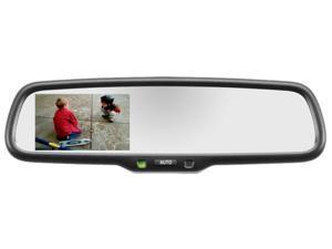"GenTex 2010-2014 Toyota Tundra Auto Dimming Mirror with 3.3"" RCD 50-2010TUNK332"