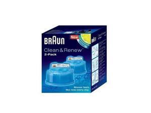 BRAUN CCR2-1 CCR2-1 CLEAN & RENEW REFILLS 2PK