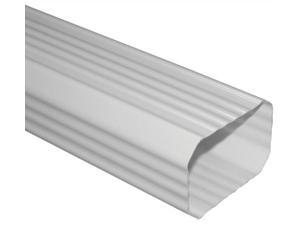Genova Pipe AW200 10 in. White Downspout Pack Of 10