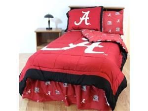 Comfy Feet ALABBKGW Alabama Bed in a Bag King - With White Sheets