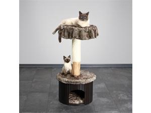 TRIXIE Pet Products 46590 Meru Natural Cat Tree, Marbled Brown-Gray