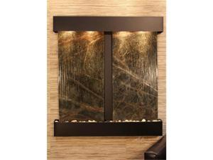 Adagio AF 1505 Aspen Falls Wall Fountain - Green Rainforest Marble