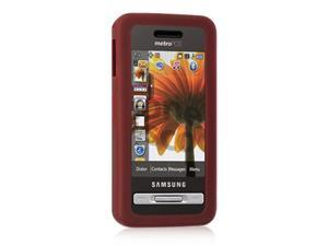 DreamWireless SCSAMR810BU-PR Samsung Finesse R810 Skin Case, Burgundy - Metro pieces