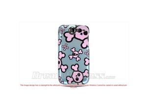 DreamWireless CAGON1BLPKSK Google Nexus 1 Crystal Case - Blue with Pink Skull