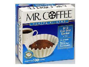 Mr. Coffee UF100 Coffee Filter For Drip Filter Coffee Brewers - 100 Count