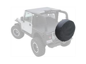 SMITTY BILT 773215 Denim Black Spare Tire Cover Fits 30 To 32 In.