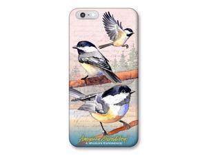 Ideaman PHN6-249 iPhone 6 Cover, Chickadee Watercolor