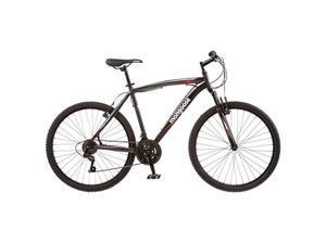 Mongoose R4066 Mens Mech Mountain Bike, Black - 26 in.