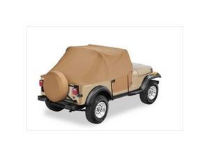 Bestop 8103737 All Weather Trail Cover For Wrangler, 1997 2006