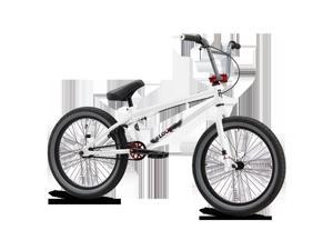 Mongoose M8673 Boys Uni Freestyle Legion L60 Bicycle, White - 20 in.