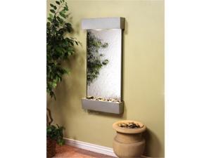 Adagio WC 4540 Whispering Creek Wall Fountain - Silver Mirror