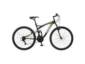 Mongoose R5500A Mens Status 2.2 Mountain Bike, Black - 26 in.
