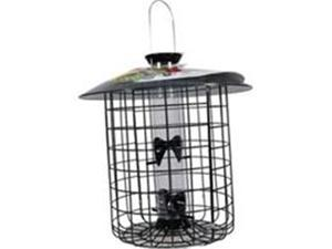 Droll Yankees 344555 15 in. Sunflower Domed Cage 4 Port, Black
