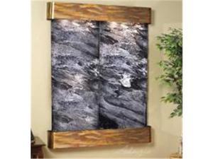 Adagio MR 1007 Majestic River Wall Fountain - Black Spider Marble