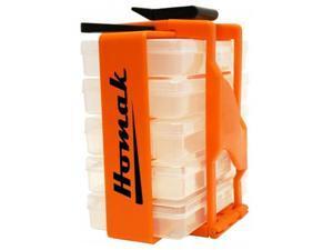Homak  HOM-HA01053029 Portable Parts Organizer  8 in.