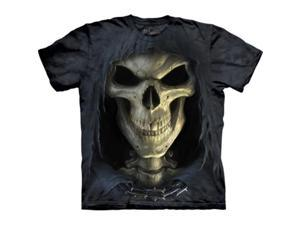 The Mountain 1036522 Big Face Death T-Shirt - Large