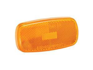 Bargman 34-59-012 Replacement Part, Clearance Light Lens No. 59 Amber, 6.50 x 4 x 0.50 in.