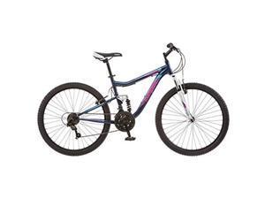 Mongoose R5501A Womens Status 2.2 Mountain Bike, Blue - 26 in.