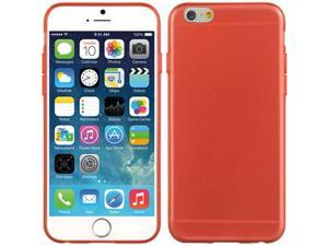 DreamWireless CSIP6USLRD Apple iPhone 6, 4.7 In. Ultra Slim Crystal Skin Case Red