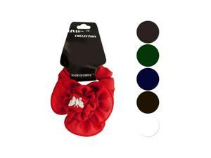 Bulk Buys BI635-24 Butterfly-Ruffle Accent Hair Twister, Large