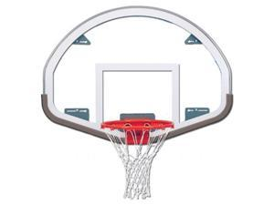 Fan-Shaped Glass Backboard