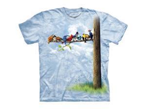 The Mountain 1033133 Bird Tree T-Shirt - Extra Large