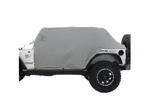 SMITTY BILT 1069 Cab Cover With Door Flap, Gray Denim - 2007-2013 Jeep Wrangler Unlimited