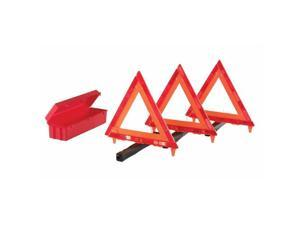 Cortina 831-95-03-009 Triangle Warning Kit, 18 in., Red-Hi-Viz Orange