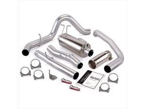 BANKS 48785 Single Monster Exhaust System, 2003-2007 6.0L Ford