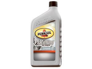 Pennzoil 550036541 Platinum 0W20 Full Synthetic Engine Oil, Pack of 6