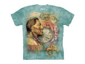 The Mountain 1035850 Five Cent Peace T-Shirt - Small