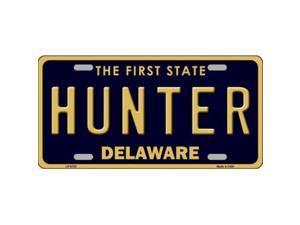 Smart Blonde LP-6720 Hunter Delaware Novelty Metal License Plate