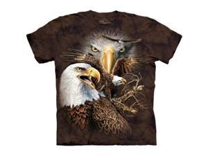 The Mountain 1037920 Find 14 Eagles T-Shirt - Small