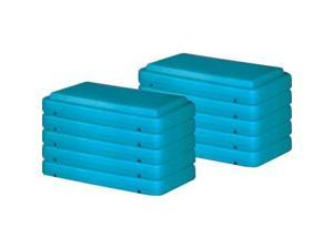Olympia Sports GA475P 4 in. Fitness Steps - Pack of 10