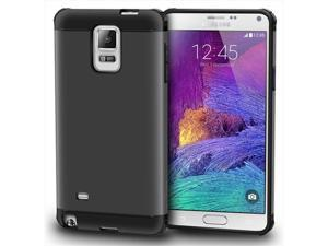 rooCASE Exec Tough Hybrid PC/TPU Case Cover for Samsung Galaxy Note 4