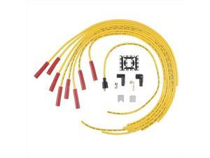 ACCEL 5040Y Super Stock Spiral Universal Wire Set, Yellow
