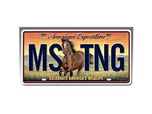 Ideaman LCNS-110 License Plate - Mustang