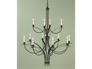 Murray Feiss F1891/8+4ORB Boulevard Collection Oil Rubbed Bronze Chandelier