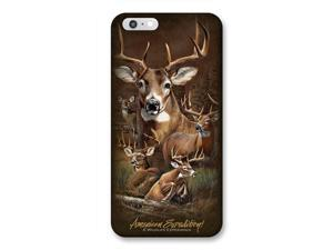 Ideaman PHN6-302 iPhone 6 Cover, Whitetail Deer Collage