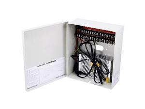 Monoprice12VDC/10A, 16-Channel CCTV Security Camera Power Supply