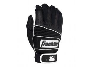 Franklin 10919F5 Neo Classic II Batting Gloves, Black, XL