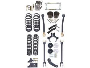 Currie CE-9808S JK 2 Door Standard 4 In. Off Road Suspension System For Up To 37 In. Tires