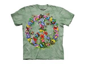 The Mountain 1033400 Butter Dragon Peace T-Shirt - Small