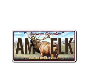 Ideaman LMAG-104 License Magnet - Elk