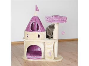 TRIXIE Pet Products 44851 My Kitty Darling Castle - Purple & Beige